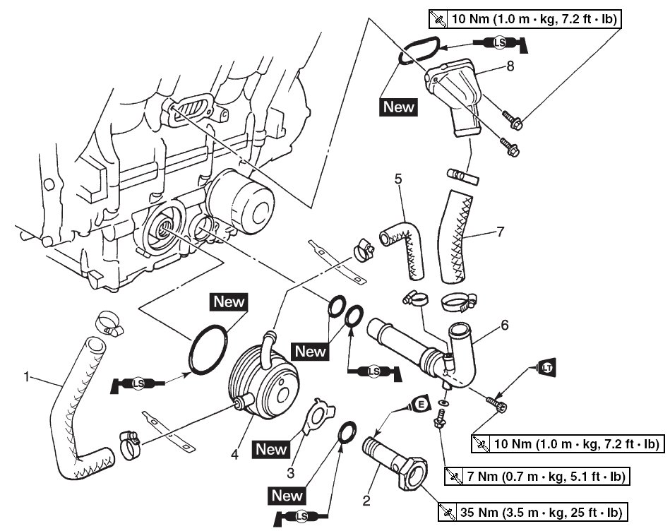 yamaha r1 hose diagram